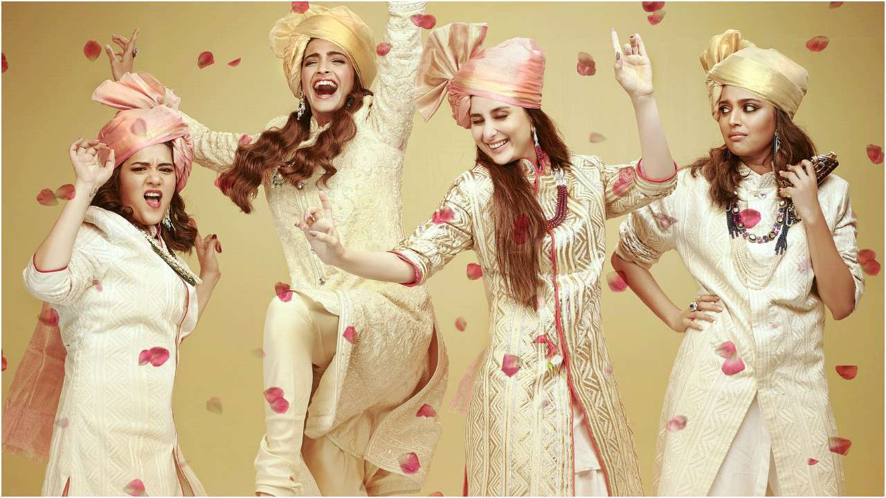 "Veere Di Wedding""… A plasticky but passable entertainer whose"