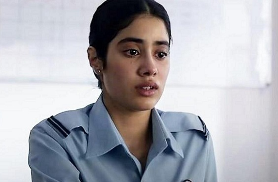 Gunjan Saxena The Kargil Girl On Netflix With Janhvi Kapoor A Rousing Biopic That Honours Its Subject While Also Humanising Her Baradwaj Rangan